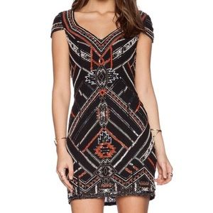 Parker Elijah Dress in Black